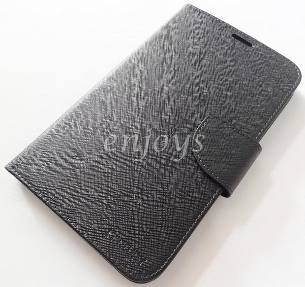 ORI MERCURY Fancy Diary Case Cover Samsung Tab 4 7.0 T231 T235 ~BLACK