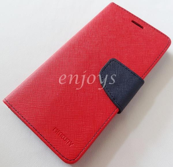 ORI MERCURY Fancy Diary Case Cover Sony Xperia Z2 / D6502 D6503 ~RED