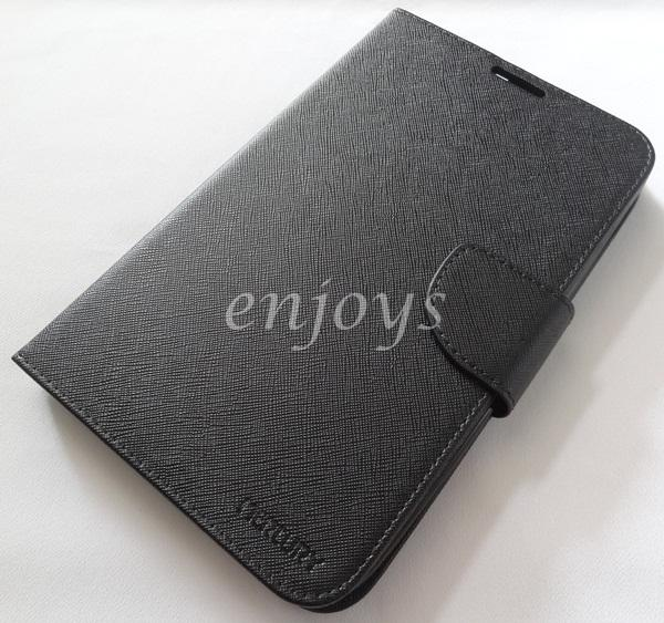 ORI MERCURY Fancy Diary Case Samsung Galaxy Tab 3 V T116 T111 ~BLACK