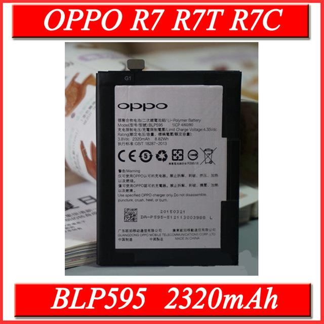 Ori Oppo R7 BLP595 Battery Replacement Sparepart Repair 2320 mAh
