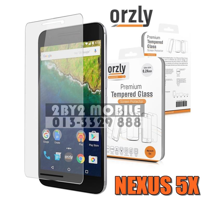 [Ori] Orzly Premium Tempered Glass 0.24mm for LG Nexus 5X