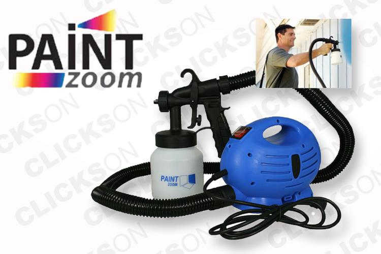 diy paint zoom paint sprayer as seen on tv spray gun paint tool. Black Bedroom Furniture Sets. Home Design Ideas