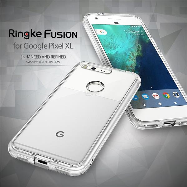 [Ori] Rearth Ringke Fusion & Tempered Glass for Pixel & Pixel XL