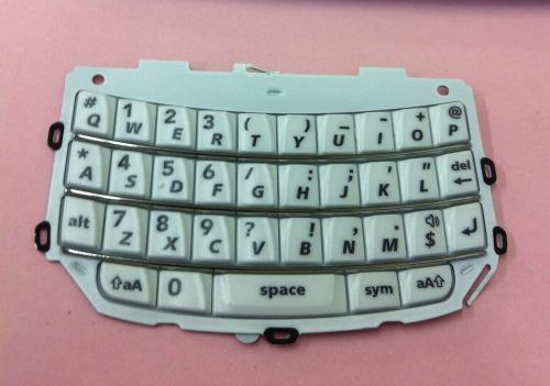Ori White Button Keypad BB BlackBerry Torch 9800 Sparepart Repair Service