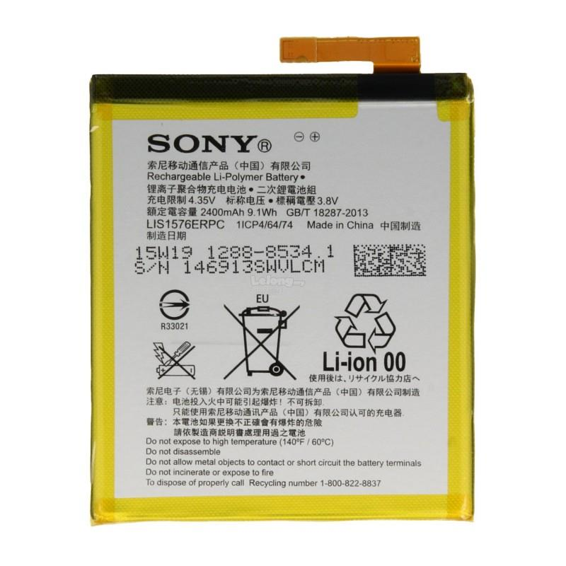 Ori Xperia M4 Aqua E2312 Battery Replacement Sparepart 2400 mAh