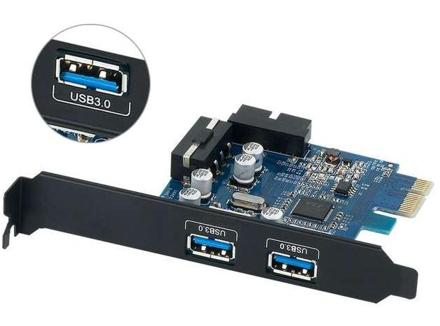 ORICO 2 PORT SUPER SPEED USB3.0 PCI-EXPRESS CARD (PVU3-202I)
