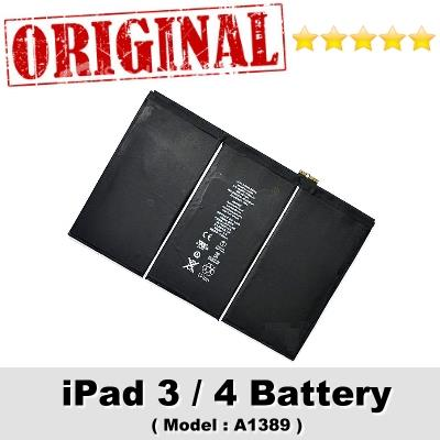 Original Apple iPad 3 4 Battery Model A1389 Internal Battery 1Year WRT