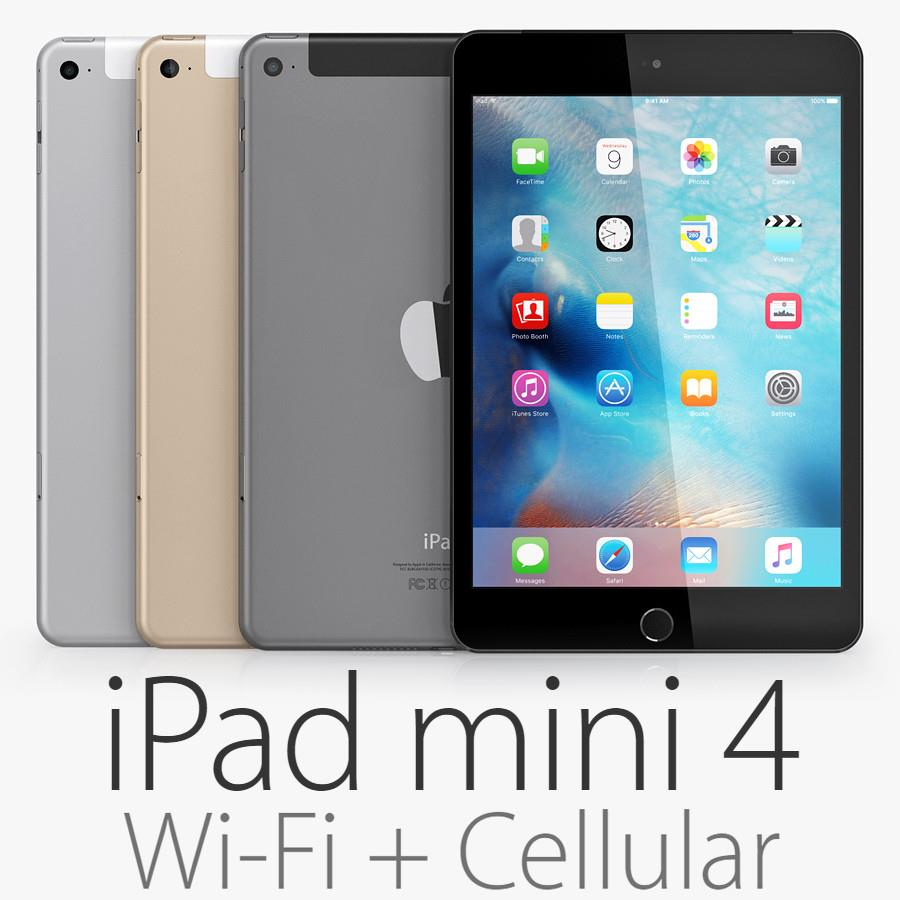(ORIGINAL) Apple iPad Mini 4 4G LTE+WIFI 16GB/64GB/128GB