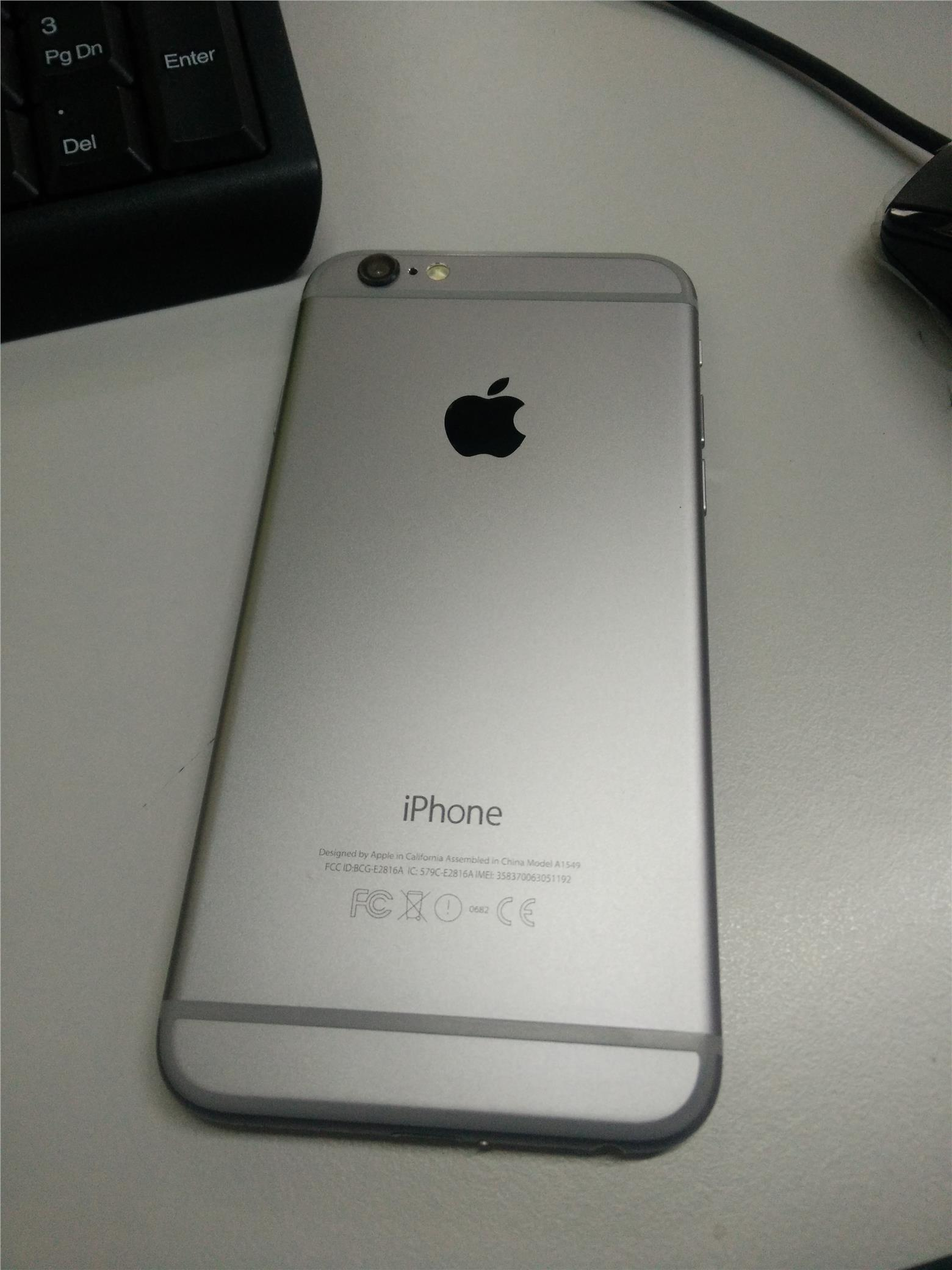 Original Apple Iphone 6 Used (Good Condition)
