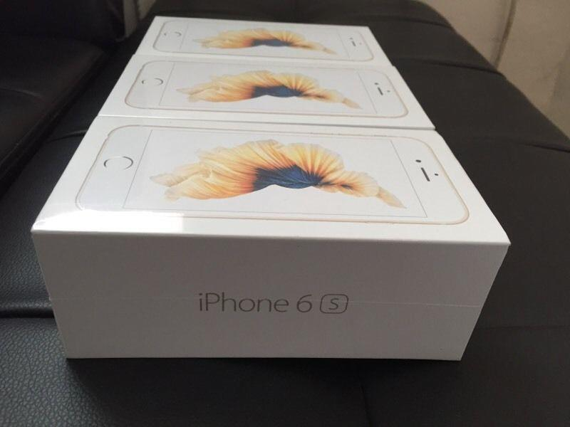 (ORIGINAL) APPLE iPhone 6S LTE 64GB (SEALED) LIMITED GOLD