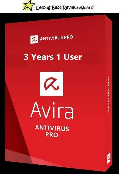 ORIGINAL Avira Antivirus Anti Virus Pro 2016 3 Years 1 PC Serial Key