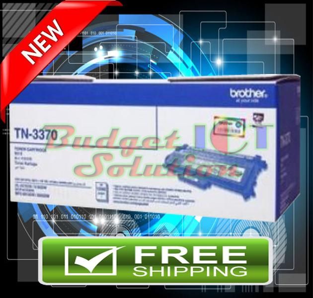 ORIGINAL BROTHER TN-3370 Toner 6180 8910 TN 3370 (FREE SHIPPING)