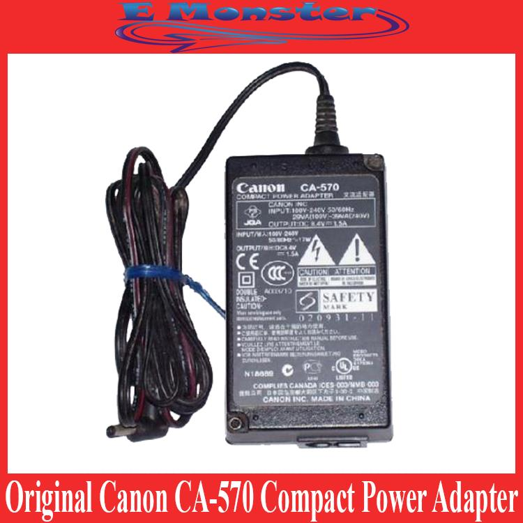 Original Canon CA-570 Compact Power Adapter For DC310 EOS 5D