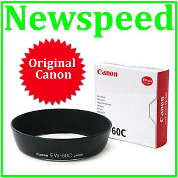 Original Canon EW-60C Lens Hood for Canon 18-55mm IS II Lens EW60C