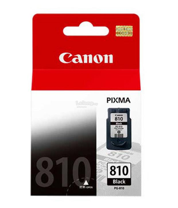 ORIGINAL CANON INK CARTRIDGE PG-810 BLACK FOR MP245/MP268/MP486 SERIES