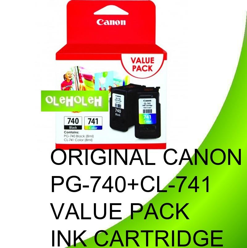Original Canon PG-740+CL-741 Value Pack Ink Cartridge