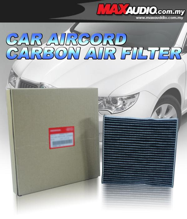 ORIGINAL Carbon Air-Cond Cabin Filter: TOYOTA ESTIMA 06