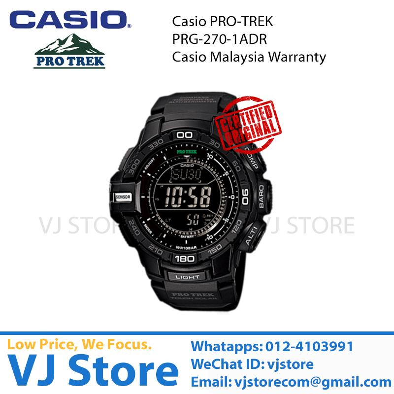 [Original] Casio Pro Trek Tough Solor  PRG-270-1ADR (Casio MY Warranty