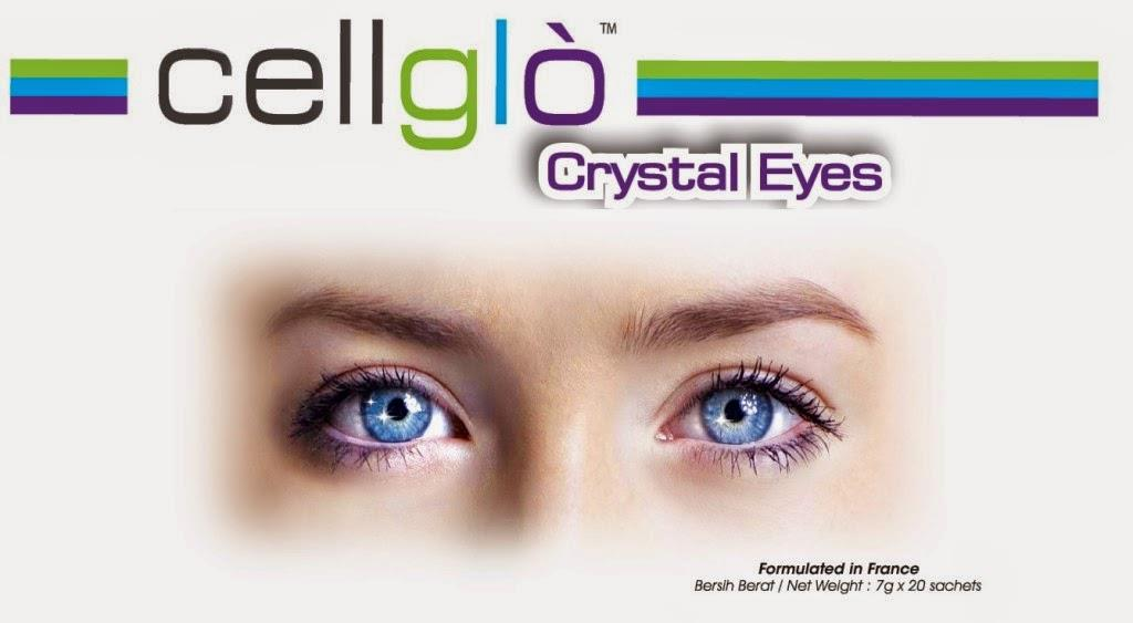 Original Cellglo Crystal Eyes x40 Packs x2 box- 100% Original & Halal