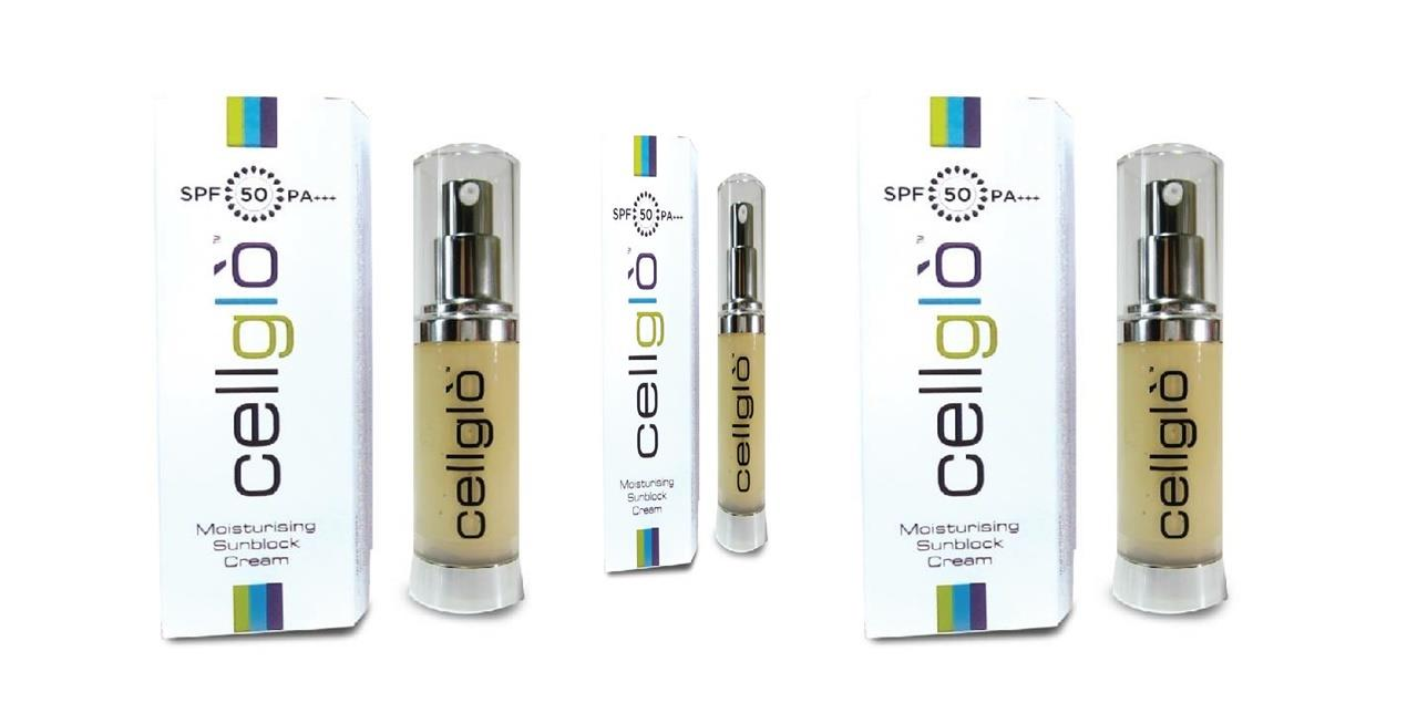 Original Cellglo The Best Sunblock In The Market SPA 50++ FreeShipping