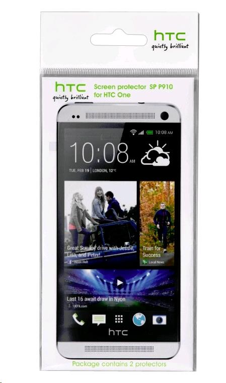 ORIGINAL Clear LCD Screen Protector SP P910 for HTC One M7 ~2 Pieces