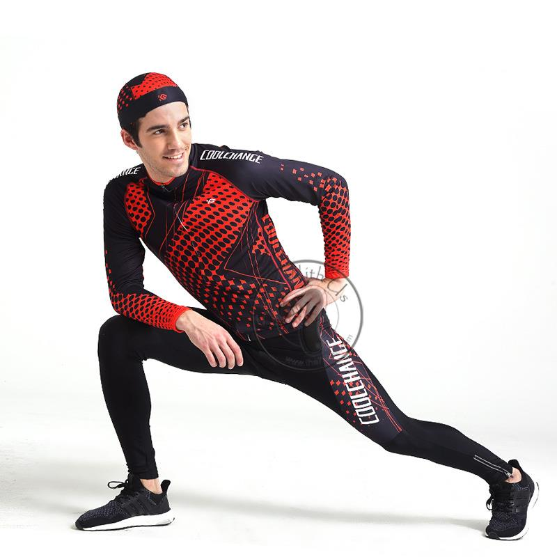 Original Coolchange Cycling Long Sleeves Jersey with Pants
