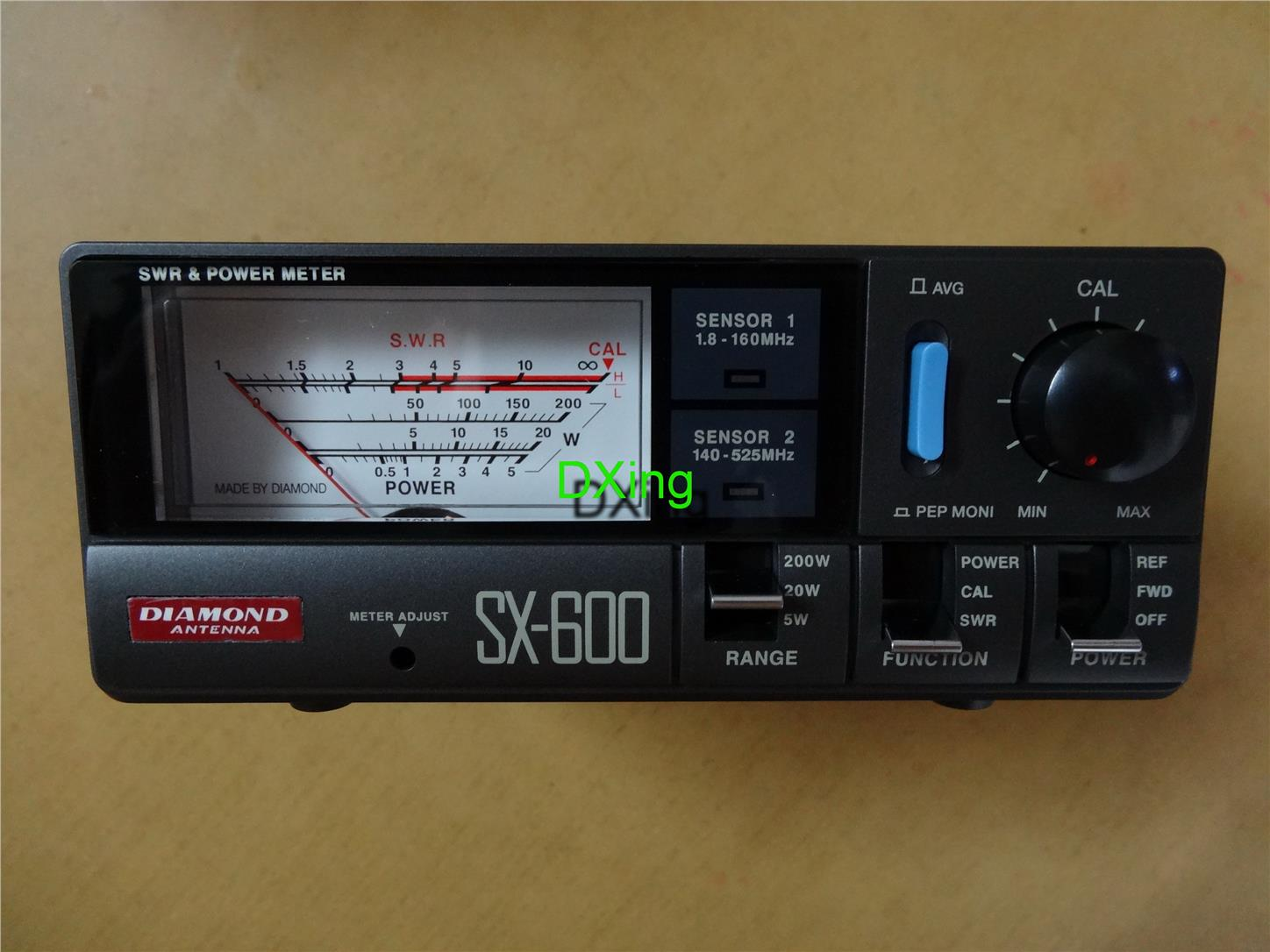 Original DIAMOND SX-600 SWR Power Meter/Amateur Radio/Ham Radio
