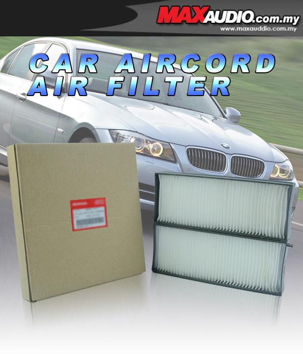 ORIGINAL Extra Clean Air-Cond Cabin Filter: TOYOTA CAMRY 07/ ALTIS '08