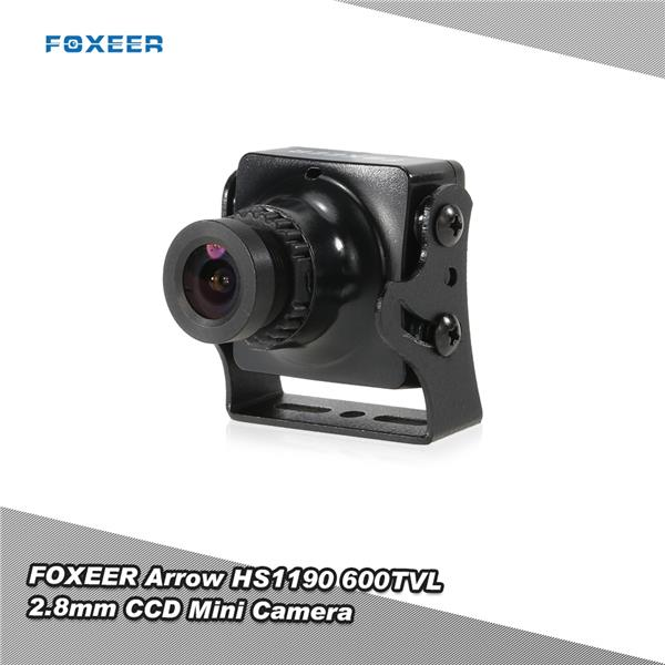 Original FOXEER Arrow HS1190 600TVL 2.8mm CCD IR-Block Mini FPV NTSC