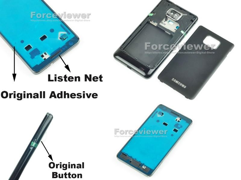 Original Full Battery back Housing Cover Door For Samsung GALAXY S 2 I..