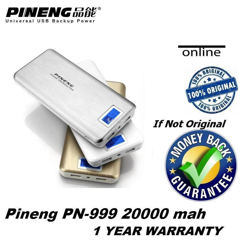 (ORIGINAL) Genuine Pineng Powerbank PN999 20000 mAh