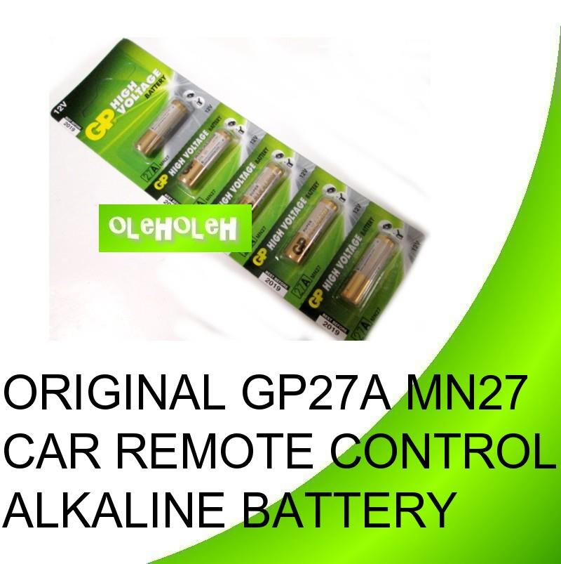 Original GP 27A MN27 Car Remote Control Alkaline Battery