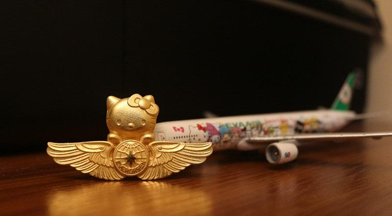 Original Hello Kitty Eva Air pin (preorder)