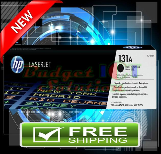 ORIGINAL HP 131A / CF210A BLACK Toner 200 M251 M276  (FREE SHIPPING)