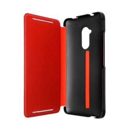 Original HTC One Max Flip Cover Leather Case