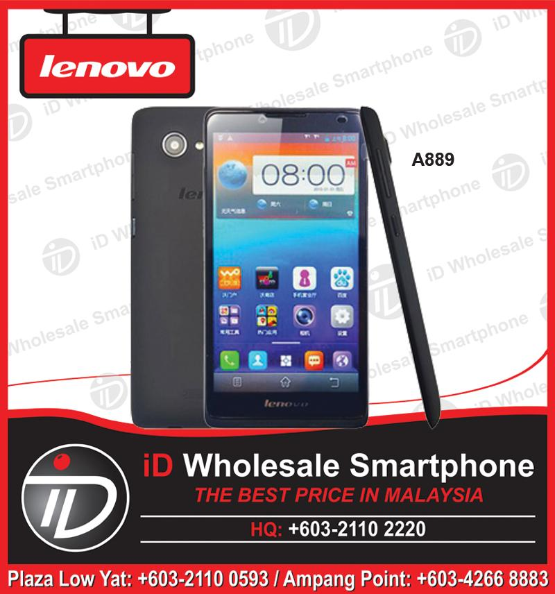 (ORIGINAL IMPORT) LENOVO A889 1GB RAM + 8GB ROM + 2 Years Warranty