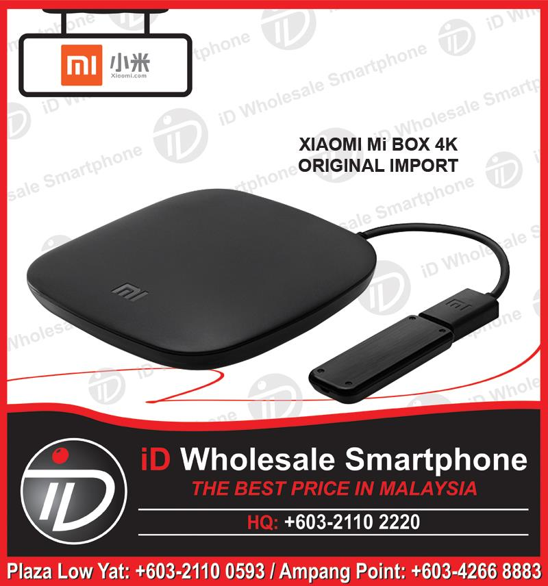 (ORIGINAL IMPORT) XIAOMI Mi BOX 4K