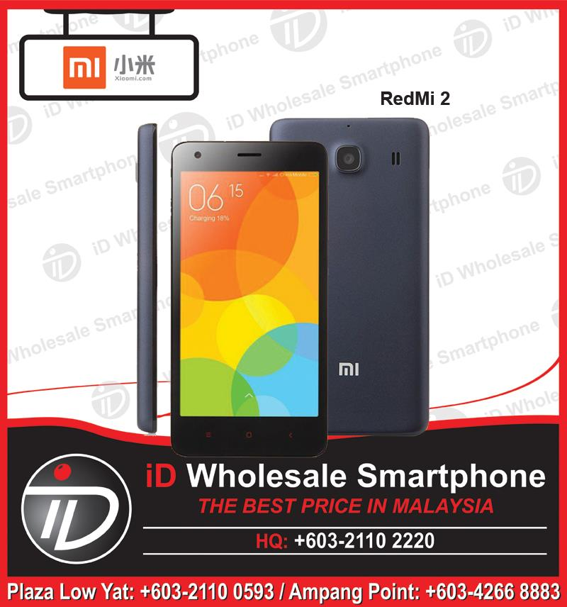 (ORIGINAL IMPORT) XIAOMI Redmi 2 4G 1GB RAM + 8GB ROM + 2 Yrs Warranty