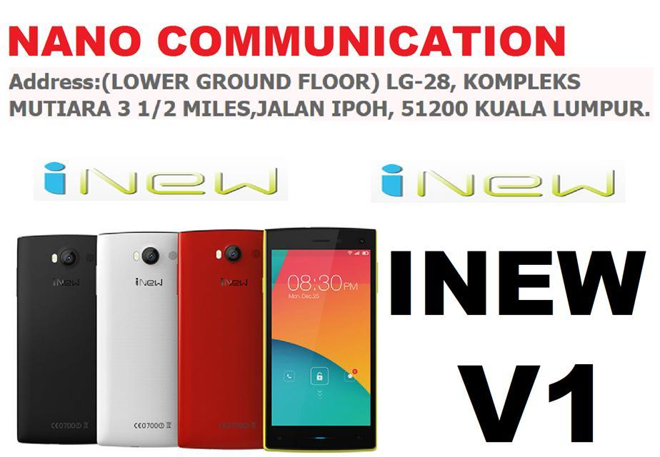 (ORIGINAL) iNEW INEW V1 1GB RAM/8GB ROM/8MP CAMERA/5.0 INCHES