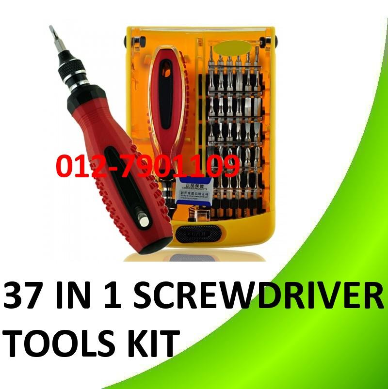 Original Jackly 37 in 1 Professional Screwdriver Set Repair Tool Kit