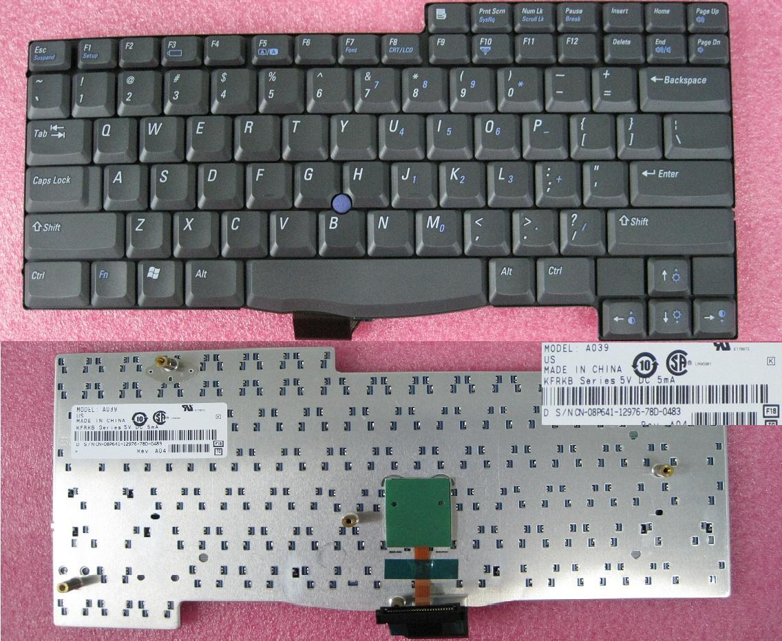 NEW ORIGINAL KEYBOARD - Dell Latitude C510 C600 C610 US Keyboard -8P64..