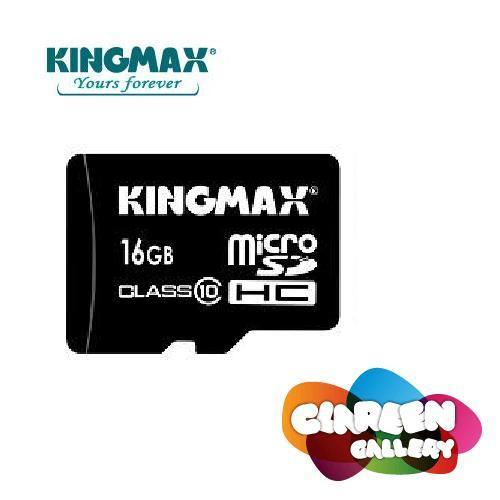 Original KINGMAX 16GB Micro SD SDHC Memory Card Class 10