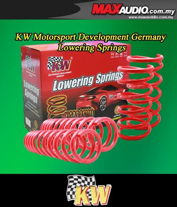 ORIGINAL KW GERMANY Lowered Sport Spring: PROTON SAGA 85-01