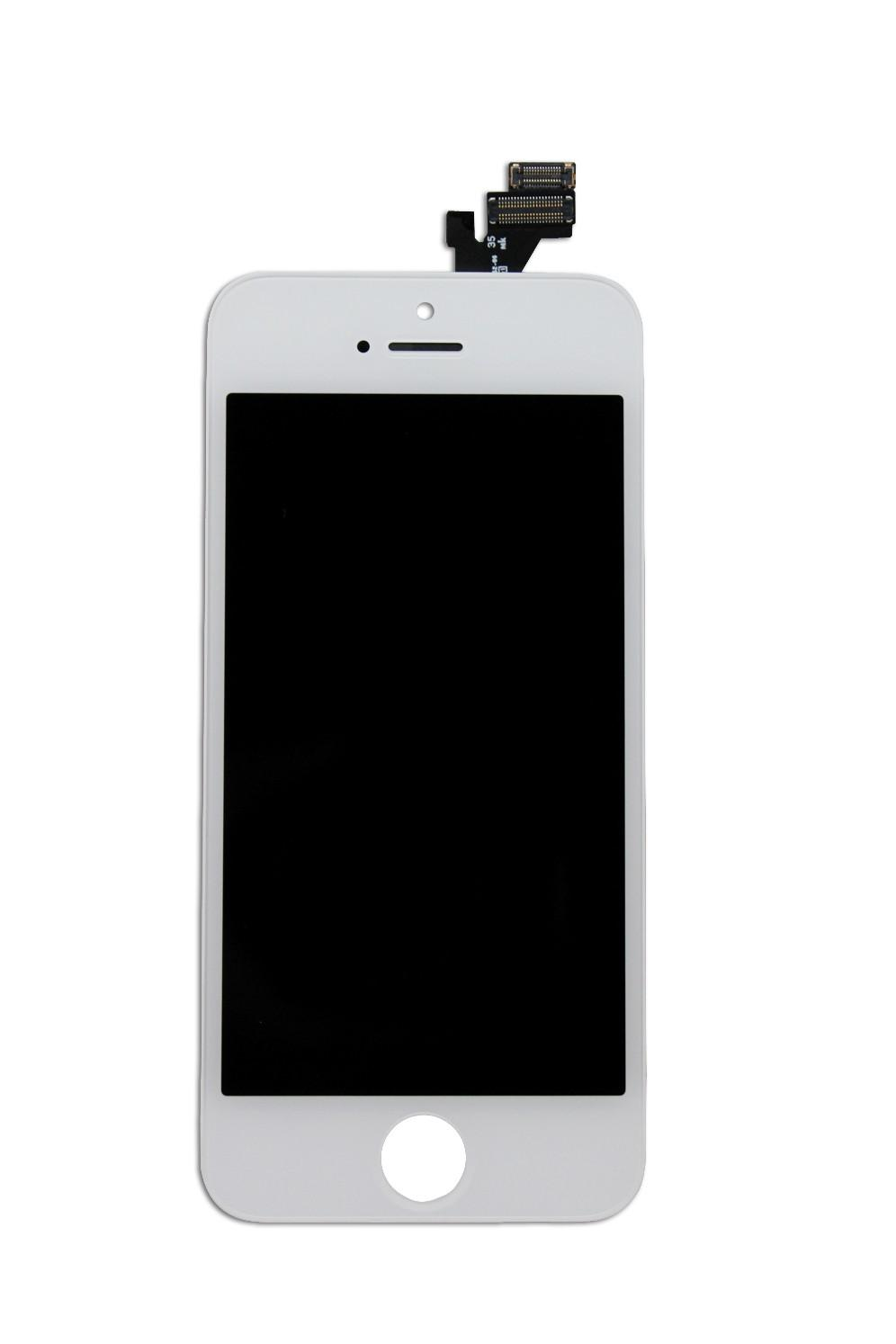 IPhone5 White IPhone Repair Broken Cracked Glass Lcd Digitizer