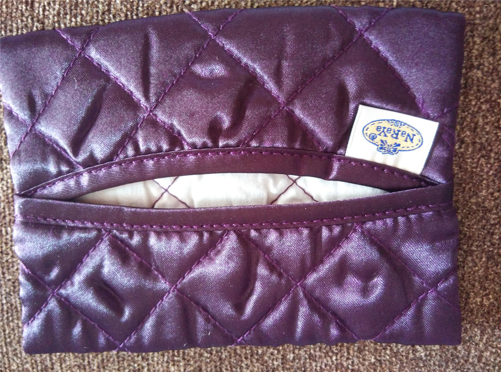 ORIGINAL NARAYA TISSUE BAG - Purple color