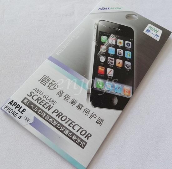 ORIGINAL NILLKIN Matte AG LCD Screen Protector iPhone 4 4S ~Front Back