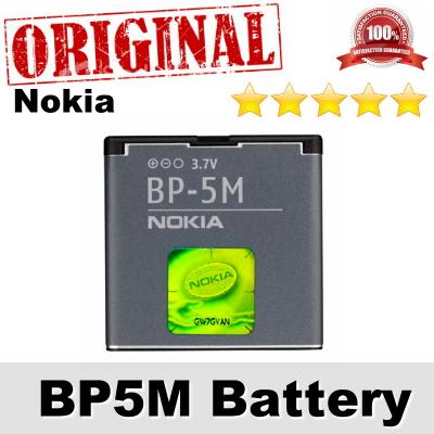 Original Nokia BP5M BP-5M 5610 XpressMusic Battery 1Year WARRANTY