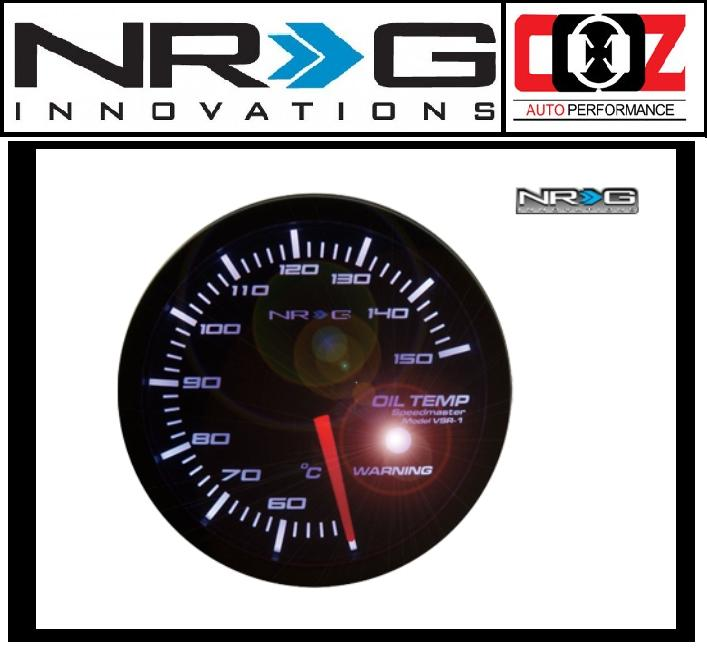 [ORIGINAL] NRG HIGH PERFORMANCE GAUGES OIL TEMPERATURE METER