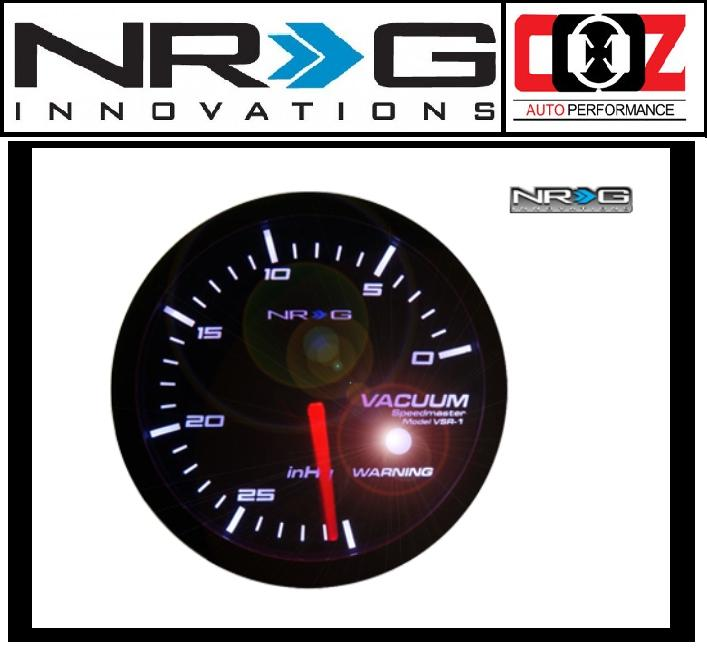 [ORIGINAL] NRG HIGH PERFORMANCE GAUGES VACUUM GAUGE