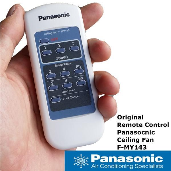 ORIGINAL Panasonic 5 Blades Ceiling Fan Remote Control F-MY143 SPARE